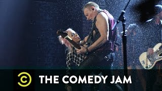 "The Comedy Jam - Taryn Manning & Phil Collen - ""Pour Some Sugar on Me"""