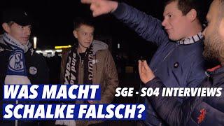 EINTRACHT FRANKFURT VS SCHALKE 04 │WAS MACHT SCHALKE FALSCH?