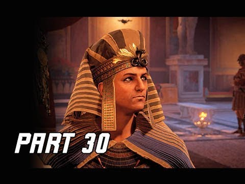 ASSASSIN'S CREED ORIGINS Walkthrough Part 30 - Ptolemy (PC Ultra Let's Play Commentary)