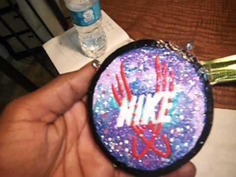 THESIS CLAY CHAIN: Nike's Galaxy Foamposite Logo