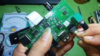 sửa máy hát nhạc SONY SN 898 sạc không vào pin đơn giản