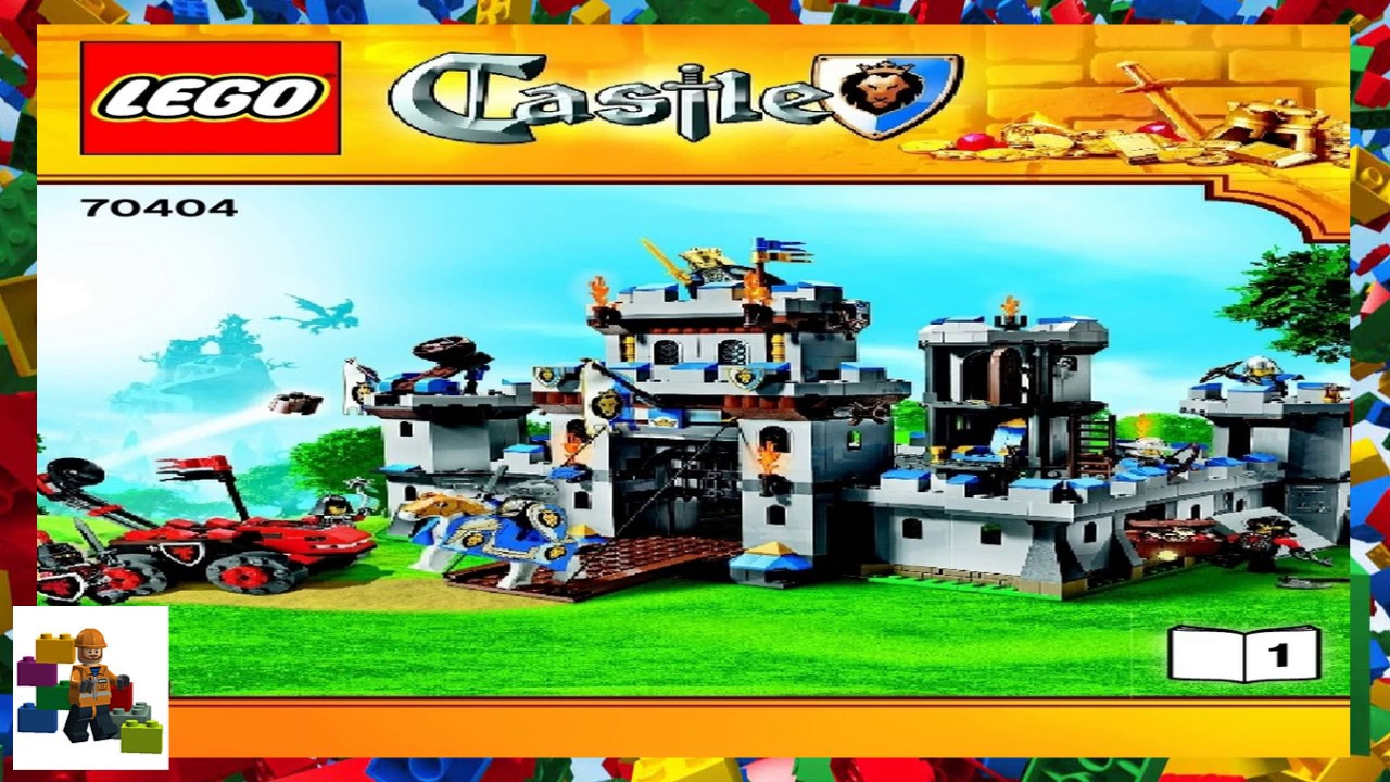 Lego Instructions Castle 70404 Kings Castle Book 1 Youtube