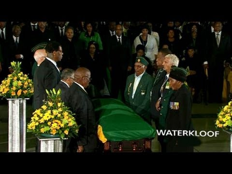 Live Stream Coverage: Nelson Mandela's farewell service, Waterkloof Airforce Base