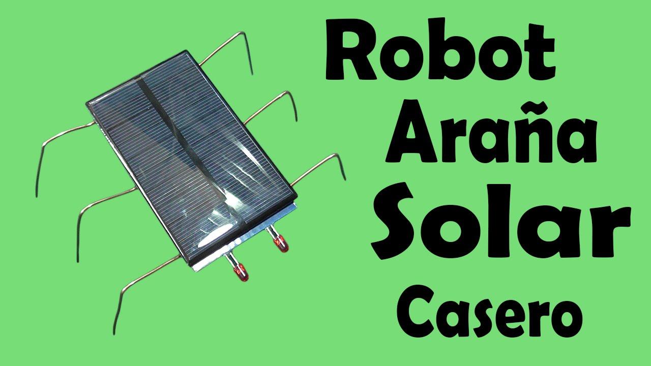 C 243 Mo Hacer Un Robot Ara 241 A Solar Casero Muy F 225 Cil De Hacer