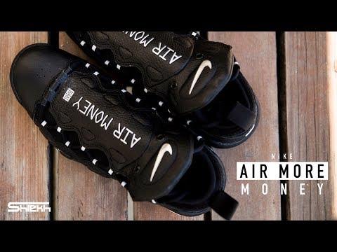 FIRST LOOK: Nike Air More Money 'Black/Metallic Silver'