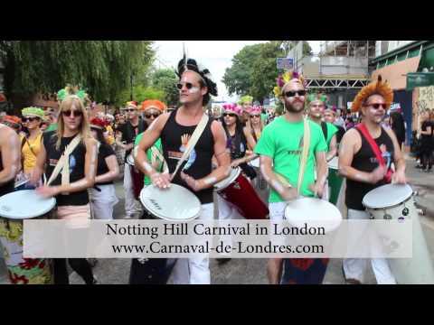 Carnaval de Londres - Tribo at Notting Hill Carnival in London 2014