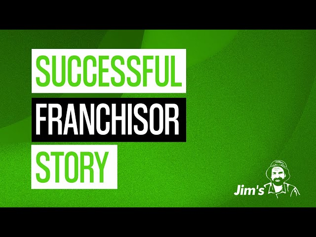 What is the story of a successful regional franchisor in Jim's? | 131 546 | www.jims.net