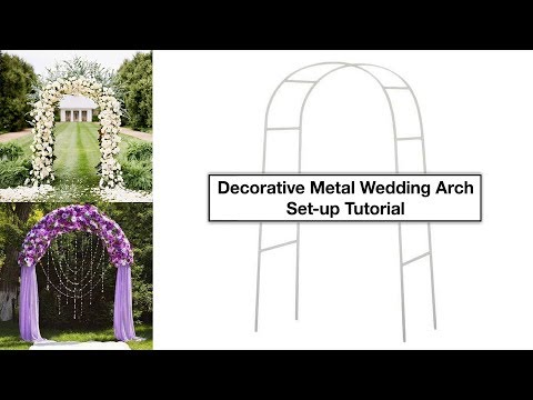 decorative-metal-wedding-arch-tutorial-|-how-to-setup-|-efavormart.com