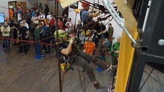 Соревнования по Промышленному Альпинизму-
