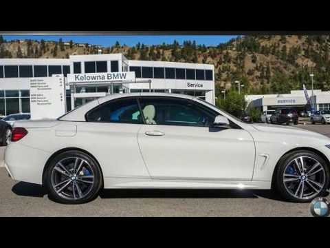 2017 Bmw 440 Xdrive Cabriolet In Kelowna Bc V1x 7x5 Youtube