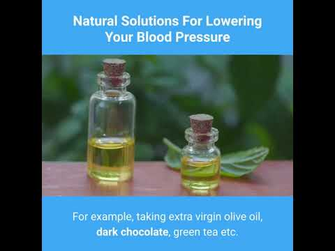 natural solutions for lowering your blood pressure