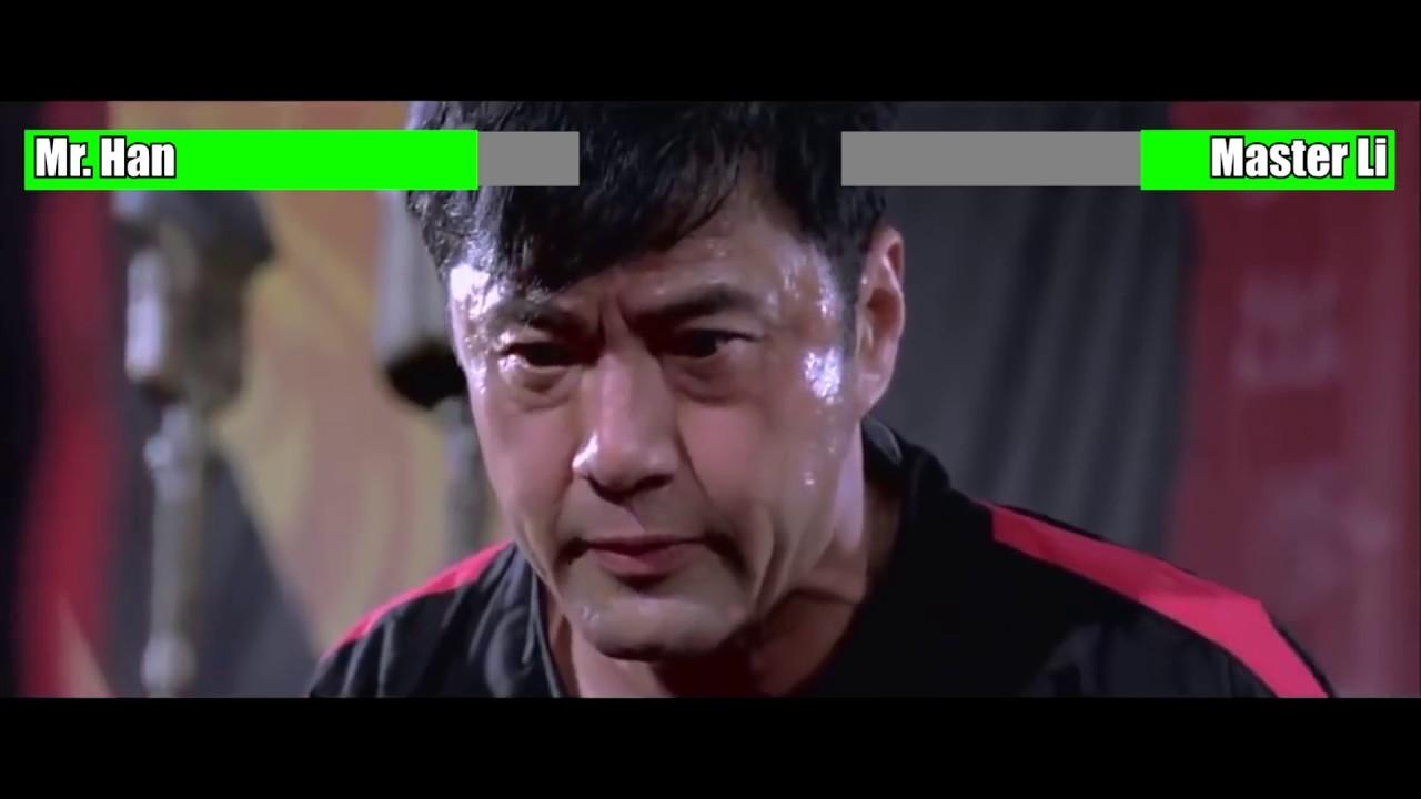 Download The Karate Kid (2010) - Mr. Han vs. Master Li [WITH HEALTH BARS]