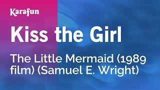 Karaoke Kiss The Girl - Little Mermaid *