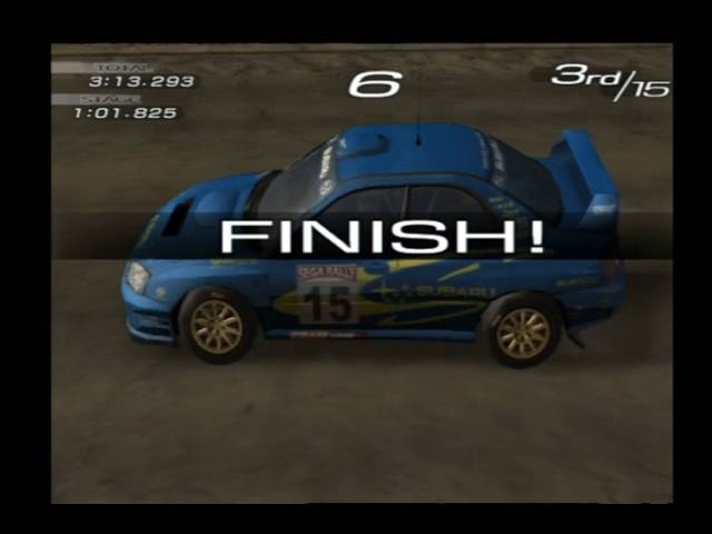 Sega Rally 2006 - Arcade Series 4 - 4:20.694