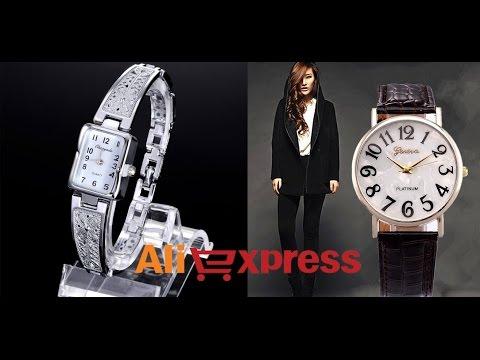 Качественные женские наручные кварцевые часы из Китая (Aliexpress)