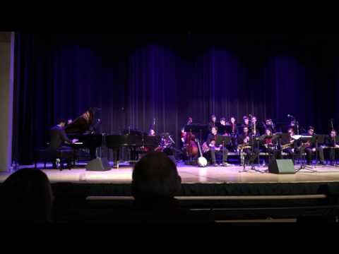 Pinkerton Academy Jazz Band with Bria Skonberg March 13, 2017