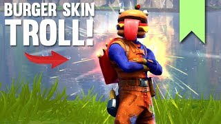 NEW DURR BURGER SKIN TROLL! | FORTNITE FUNNY FAILS AND BEST MOMENTS #053