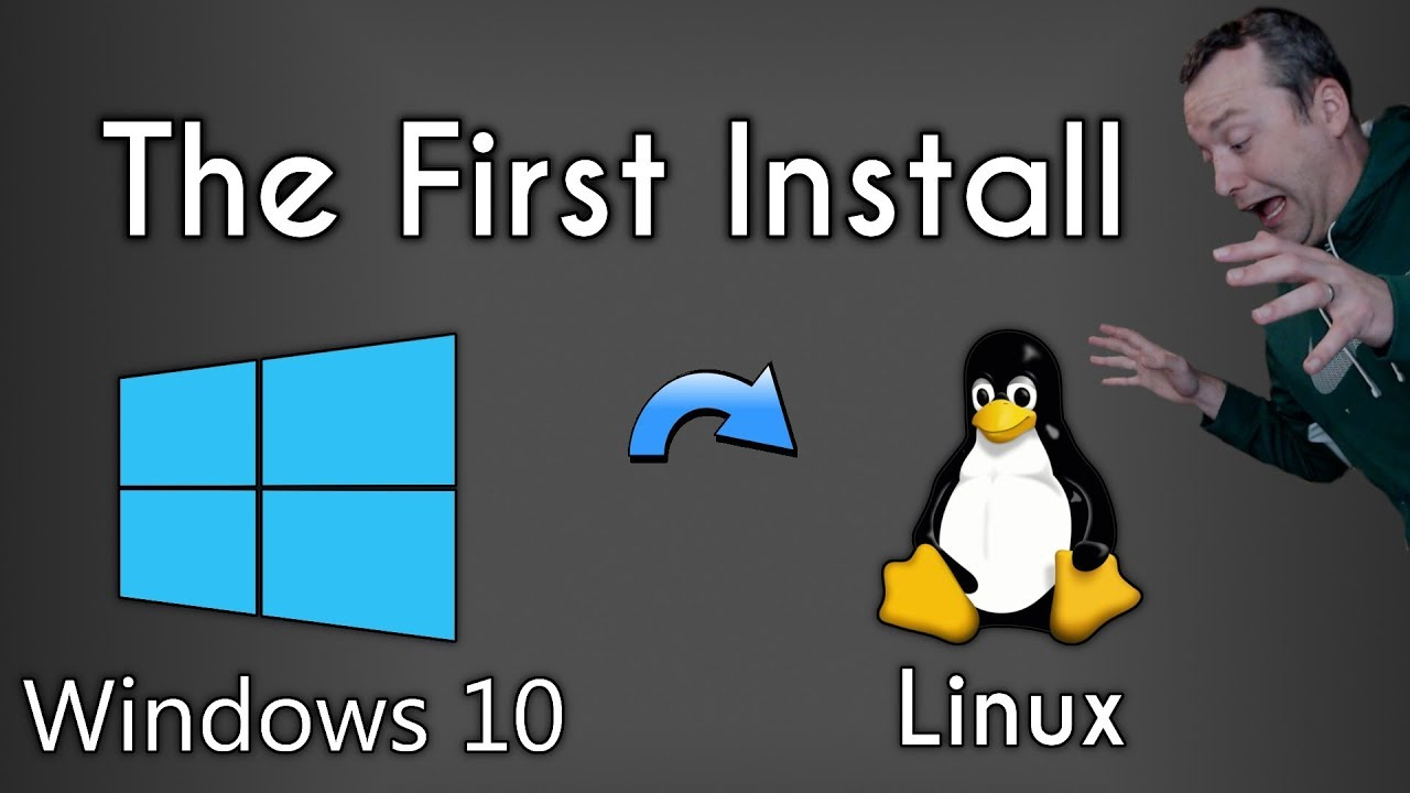 Windows to Linux | The First Linux Install | Pop OS