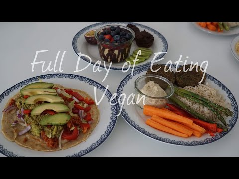 FULL DAY OF EATING- VEGAN EDITION