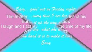 Rascal Flatts (feat. Natasha Bedingfield)- Easy w/ Lyrics
