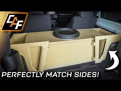 how-to-match-the-sides!-custom-subwoofer-box-build