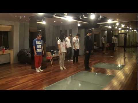 Lee Min Ho - China FM dance practice