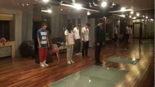Lee Min Ho - China FM dance practice