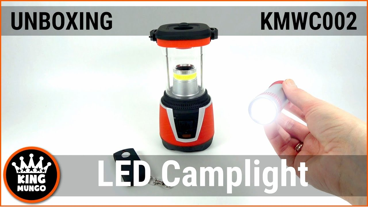 Led Bol Tuin Camplight Unboxing Video Kmcl002 King Mungo High Quality Led Camping Light Promotional Video