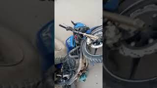 Biker injured in Kishtwar afte…