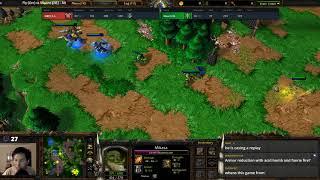 Fly (Orc) vs Moon (NE) - WarCraft 3 - G2 - WarCraft####