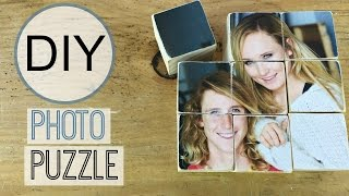 Diy Photo Transfer On Wood Puzzle | Michele Baratta