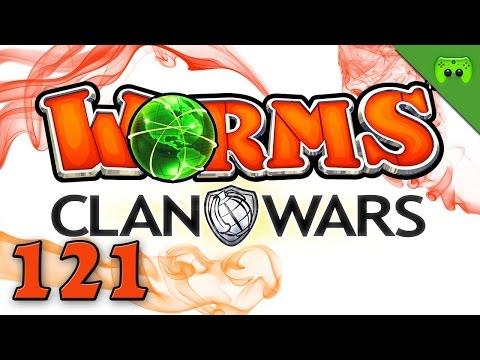 WORMS CLAN WARS # 121 - Würmer zähmen leicht gemacht «» Let's Play Worms Clan Wars | Full HD