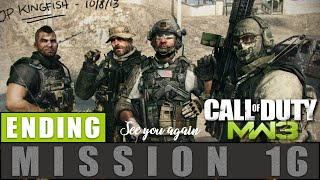 Call of Duty Modern Warfare 3 Mission 16 Dust To Dust Ending Gameplay Walkthrough [PC]