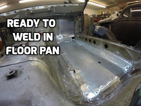 Datsun 280z NEW Floor Pan Fitted - Ready to Weld