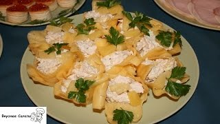Салат с ананасом и чесноком