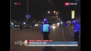Mabuk Saat Balapan Liar, Belasan Remaja Asal Padang Diamankan Polisi - BIP 19/03