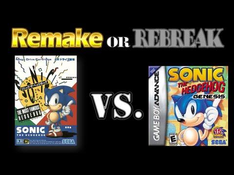 ROR: Sonic The Hedgehog (1991) (Sega Genesis Vs. GBA)
