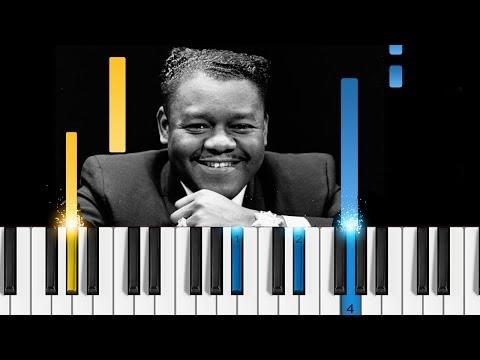 Fats Domino - Blueberry Hill - Piano Tutorial