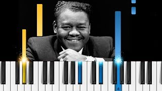 Fats Domino - Blueberry Hill - Piano Tutorial