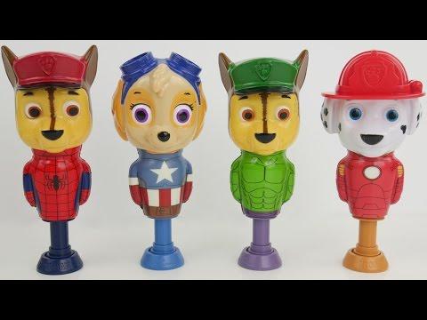 Paw patrol pop up toys
