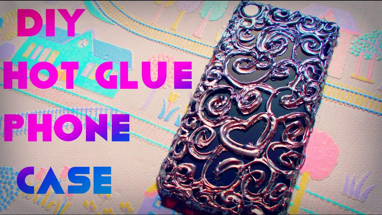 best service 3decc e680c DIY phone case | DIY hot glue phone case | Maison Zizou