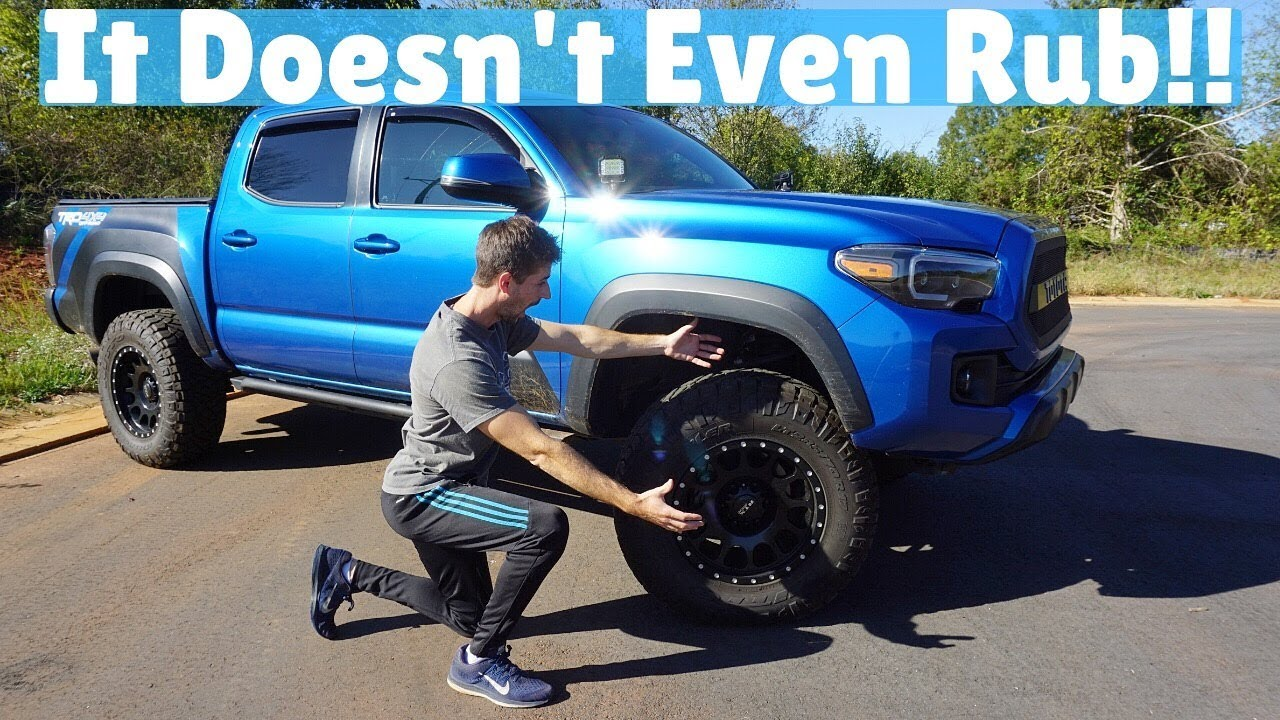 What Is The Best Wheel Tire Combo For The 3rd Gen Toyota Tacoma Youtube