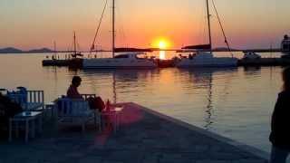 прогулка на закате по городку Наксос, Киклады, Греция, июнь 2014(Хора - очаровательная столица острова Наксос, спокойная, размеренная, располагающая к неспешному шатанию..., 2014-06-25T10:08:50.000Z)