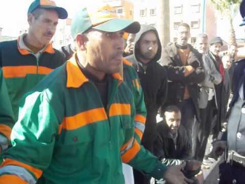 khénifra UMT-FNCL- marche du 22-12-2012.MOV