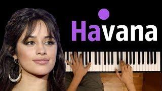 Camila Cabello - Havana ● karaoke | PIANO_KARAOKE ● ᴴᴰ + SHEETS & MIDI