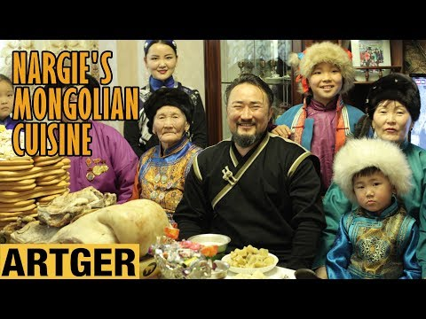 Nargie's Mongolian Cuisine: White Moon Foods (Mongolian Lunar New Year Celebration)