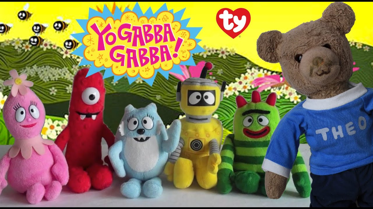 Yo Gabba Gabba Ty Beanie Babies Collection - YouTube 9f7e5e114f18