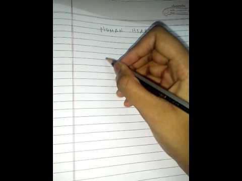 Easy Way To Draw Human Heart Youtube