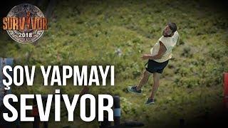 Hilmi Cem havada adeta uçtu! | 38.Bölüm | Survivor 2018