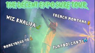 The Decent Exposure Tour (Wiz Khalifa,Playboi Carti,French Montana,Moneybagg yo)